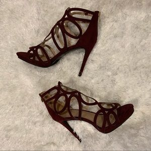REPORT Stilettos in Burgundy • NEW!!